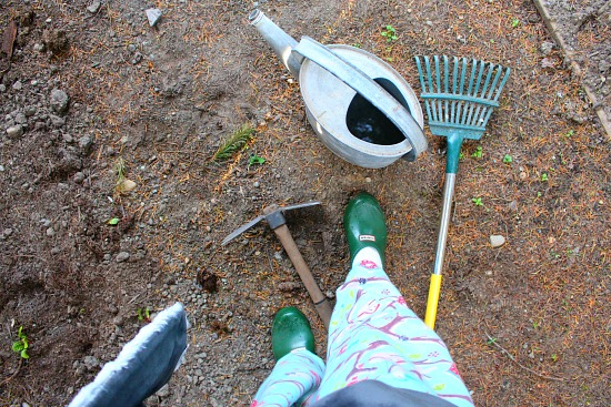 gardening in pjs
