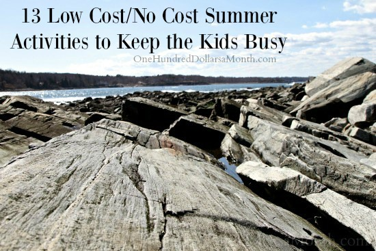 Summer Activities to Keep the Kids Busy