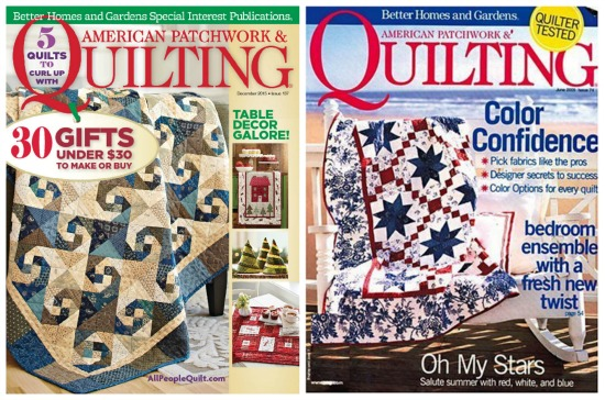 american patchwork quilting magazine