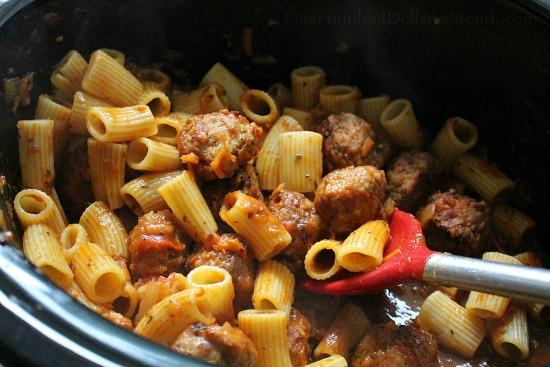 crock pot pasta