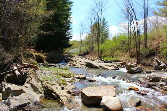 hiking river