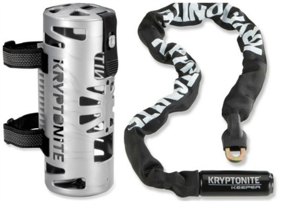 Kryptonite Keeper 785 Chain with Carrier
