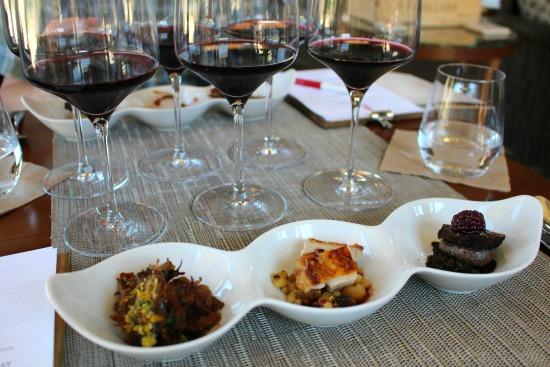b cellars winery tour small bites