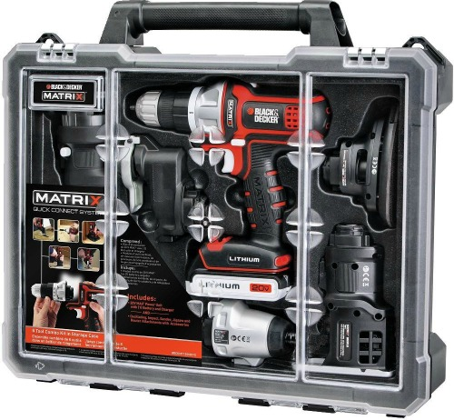black and decker matrix tool set