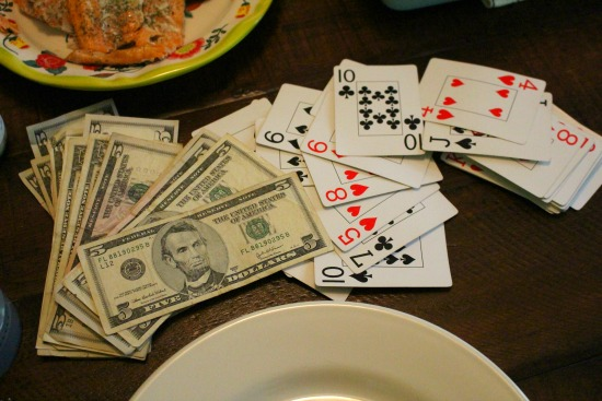 playing 31 card game