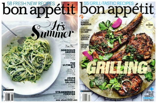 bon appetit magazine