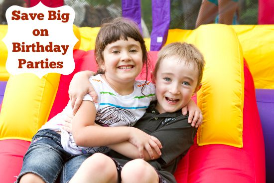 52 Ways to Save $100 a Month Save Big on Birthday Parties