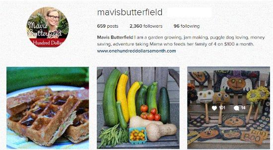 mavis butterfield instagram