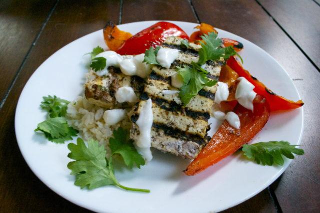 Grilled Sumac Tofu