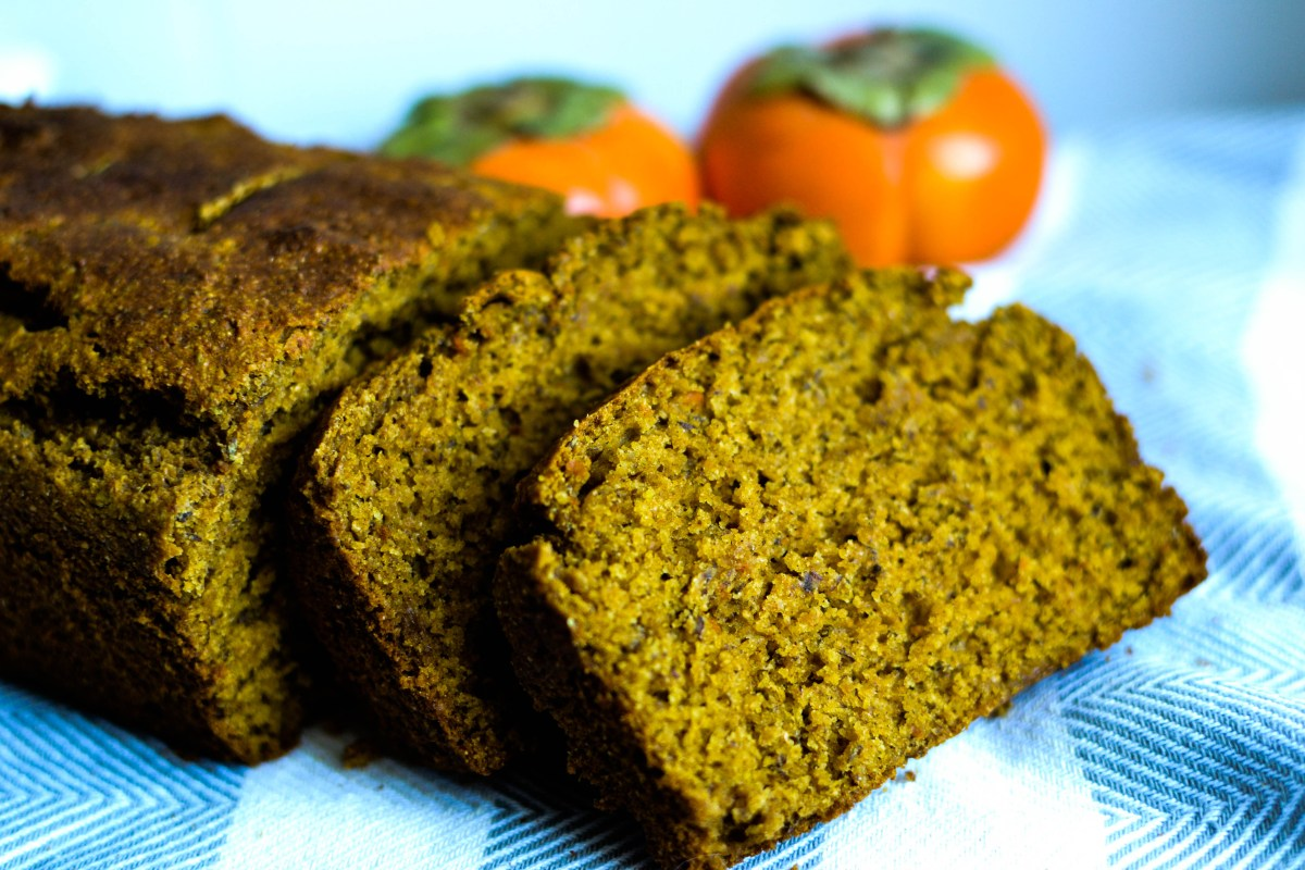 Healthy Persimmons Bread