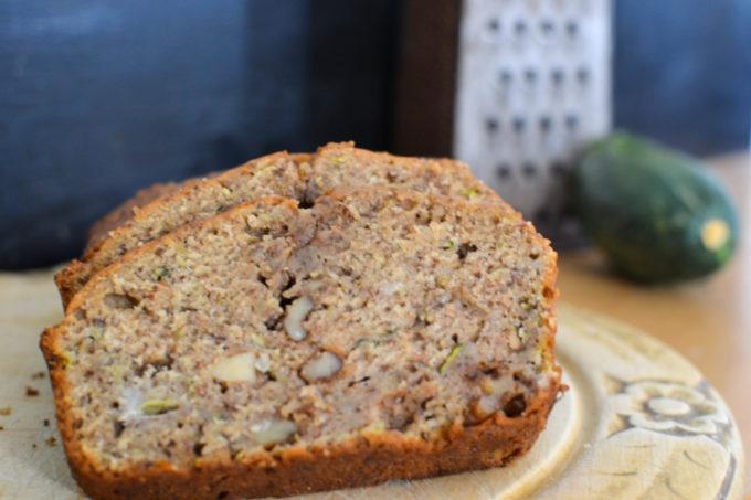 Healthy Spiced Zucchini Banana Bread