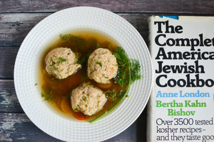 Healthy Vegetarian Matzo Ball Soup