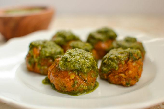 Newer Tastier Vegetarian Chickpea Meatballs