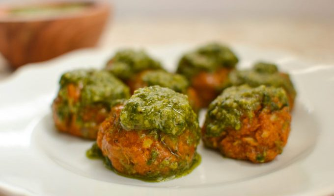 Newer Tastier Vegetarian Chickpea Meatballs