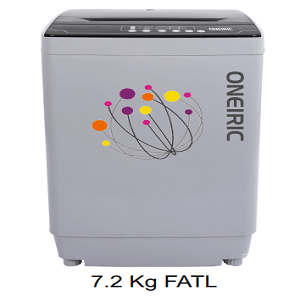 Oneiric Fully Automatic Washing Machine 7.2kg