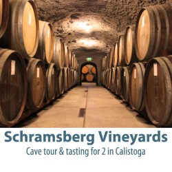 IMAGE: Schramsberg Vineyards of Calistoga