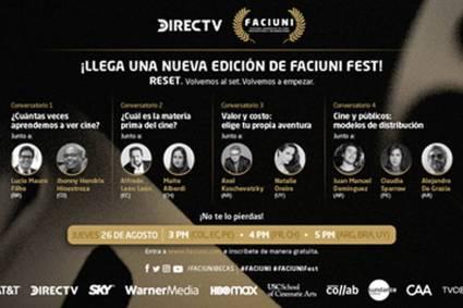DIRECTV ANUNCIA UNA NUEVA EDICIÓN DE SU FESTIVAL DE CINE FACIUNI FEST