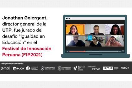 UTP participó en el Festival de Innovación Peruana