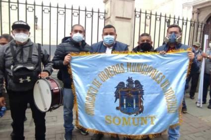 MPT: Alcalde José Ruiz respalda lucha de obreros ediles