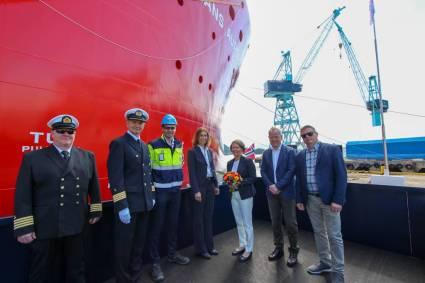 Nexans celebra la ceremonia de bautizo de su buque insignia 'CLV Nexans Aurora'