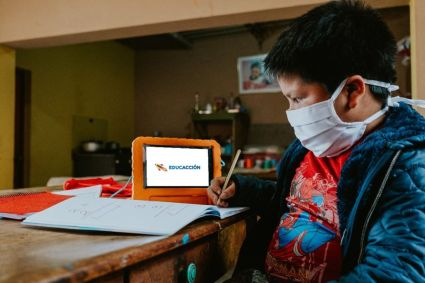 Danper implementa solución de educación digital para escolares de zonas con limitado acceso a internet