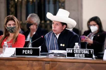 Presidente Castillo en México: invoca priorizar lucha contra el terrorismo, la pandemia y el crimen organizado a miembros del CELAC