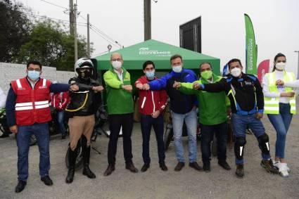 """MOVEMOS estrena serie web """"Escuela de Motociclistas"""" para disminuir los siniestros viales en el Perú"""