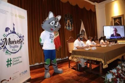 """MPT apuesta por una ciudad sostenible: lanzan campaña """"Muévete Trujillo"""""""