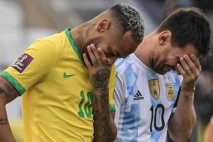 Suspenden el partido entre BRASIL vs. ARGENTINA