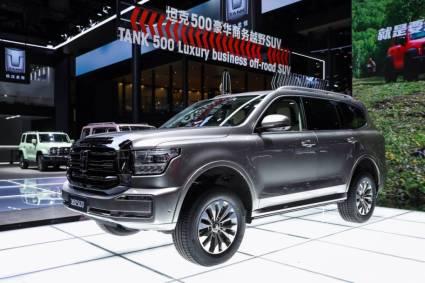 Great Wall Motors marca la diferencia y cautiva al mundo en el salón del automóvil de Chengdu