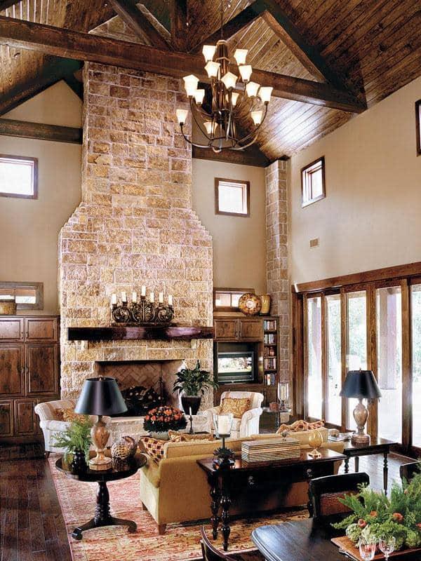 Remarkable Spanish Inspired Living Room