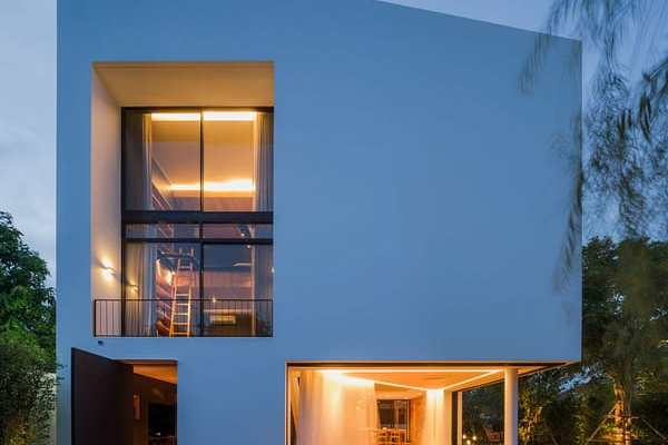 featured posts image for Modern minimalist home in Thailand: Baan Moom