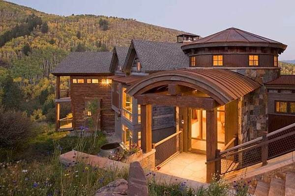 featured posts image for Warm and inviting mountain contemporary home in Colorado