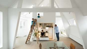 Contemporary apartment renovation in amsterdam by denoldervleugels