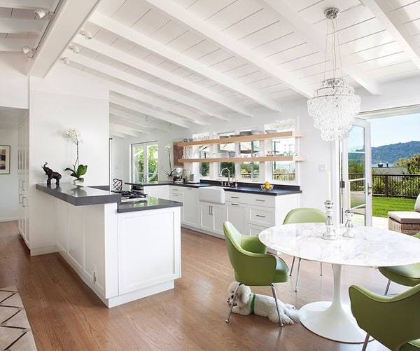 Spectacular Kitchen Family Room Renovation In Leesburg: Ranch House Renovation With Stunning Views: Marin Bungalow