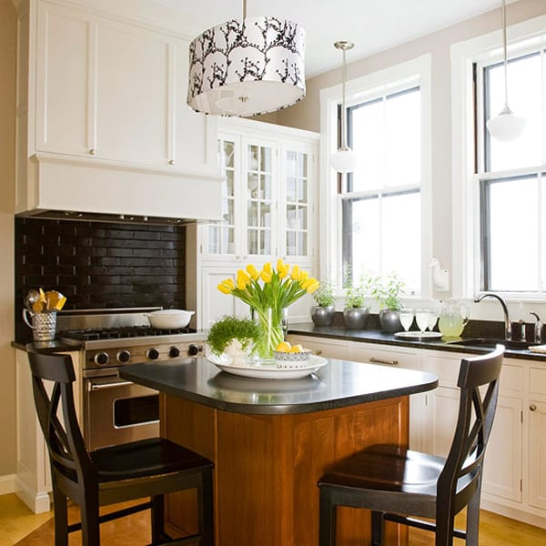 27 Space Saving Design Ideas For Small Kitchens: 48 Amazing Space-saving Small Kitchen Island Designs