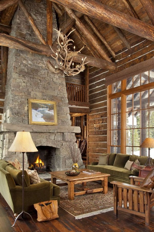 cabin style living room 47 extremely cozy and rustic cabin style living rooms 15356