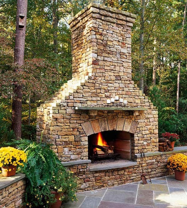 Most Amazing Photos Ever: 53 Most Amazing Outdoor Fireplace Designs Ever
