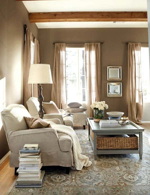 35 Attractive Living Room Design Ideas: 35 Super Stylish And Inspiring Neutral Living Room Designs