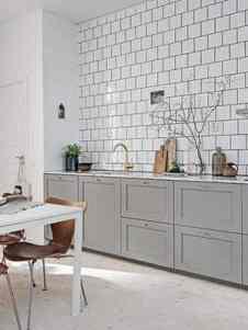 60 Chic Scandinavian Kitchen Designs For Enjoyable Cooking,Wooden Door Design For Home India