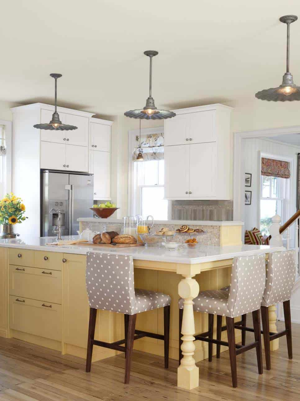 How To Make Kitchen Snack Bar From Cabinets