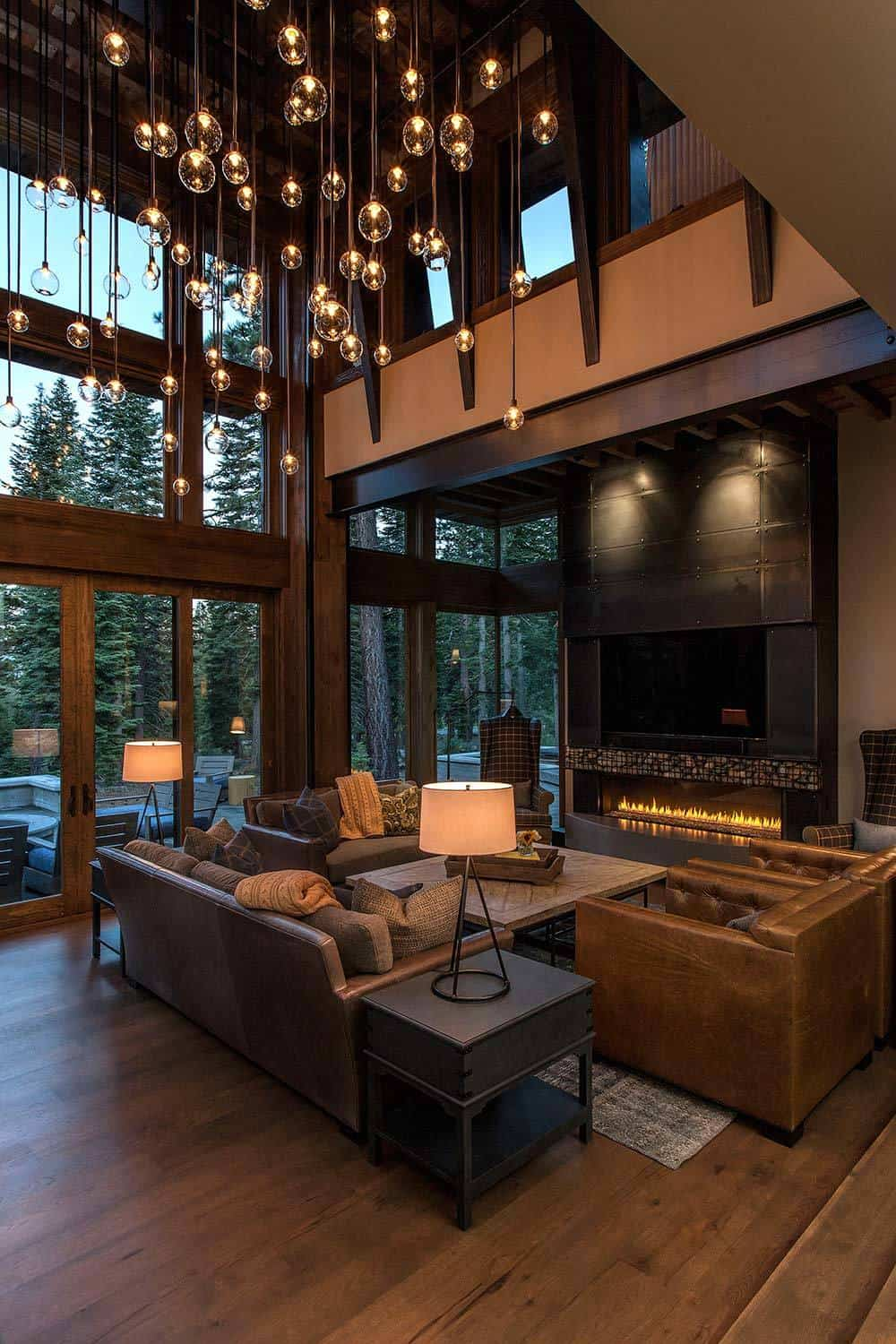 Lake tahoe getaway features contemporary barn aesthetic for Studio c home design