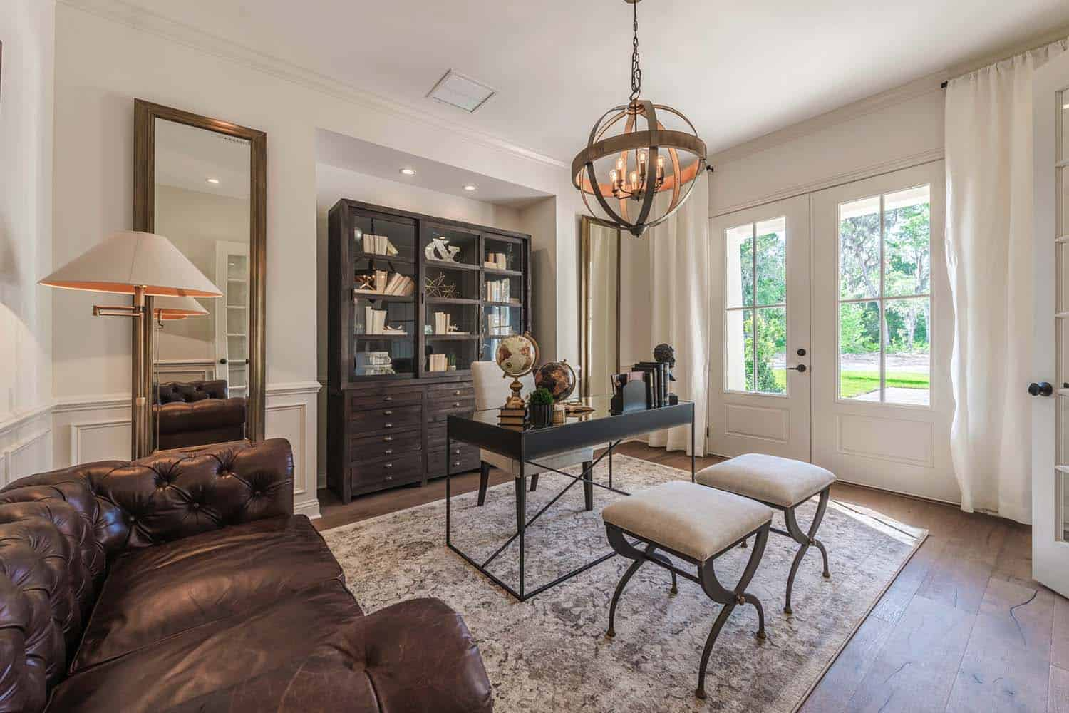 Interior design home cottage - Transitional Style Model Home Cottage Home Company 08
