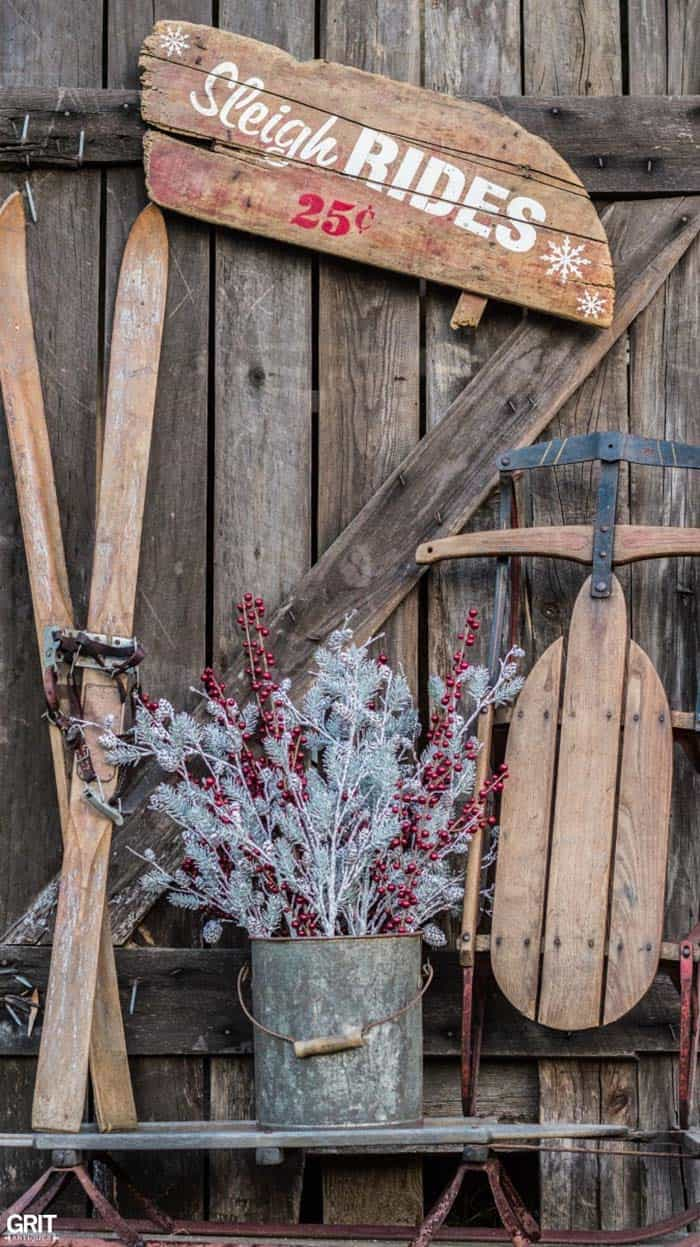 40 fabulous rustic country christmas decorating ideas for Best diy decorating blogs
