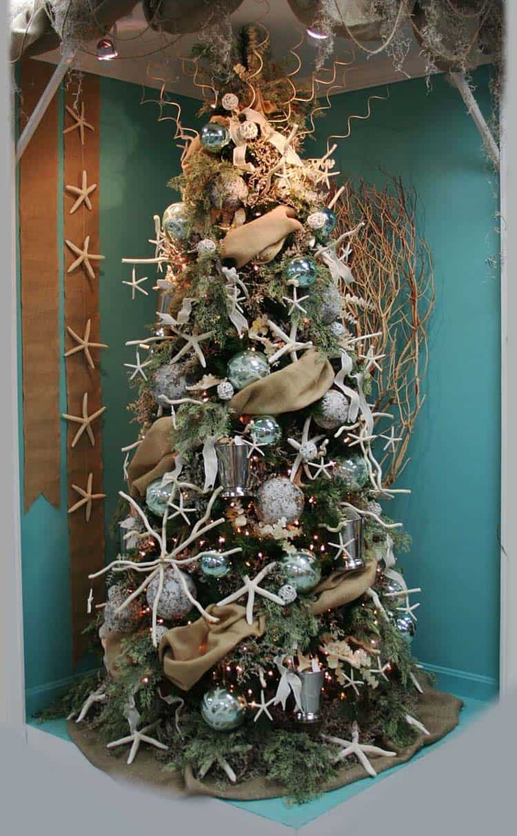 Beach Themed Christmas Decorations