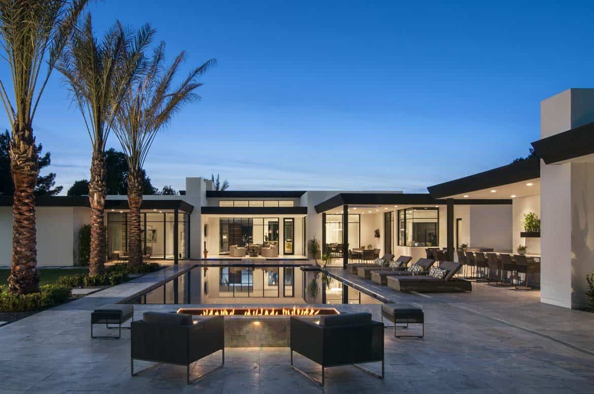 Best Kitchen Gallery: Bali Inspired Home Offers A Peaceful Oasis In The Arizona Desert of Scottsdale Arizona Home Builder on rachelxblog.com