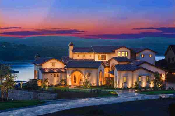 featured posts image for Absolutely breathtaking Santa Barbara style home overlooking Lake Travis