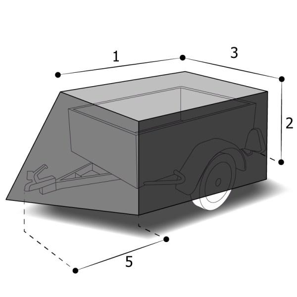 Housse sur mesure remorque auto
