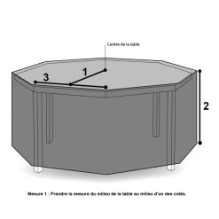 Housses table de jardin - Onekover.com Achetez votre housse ...