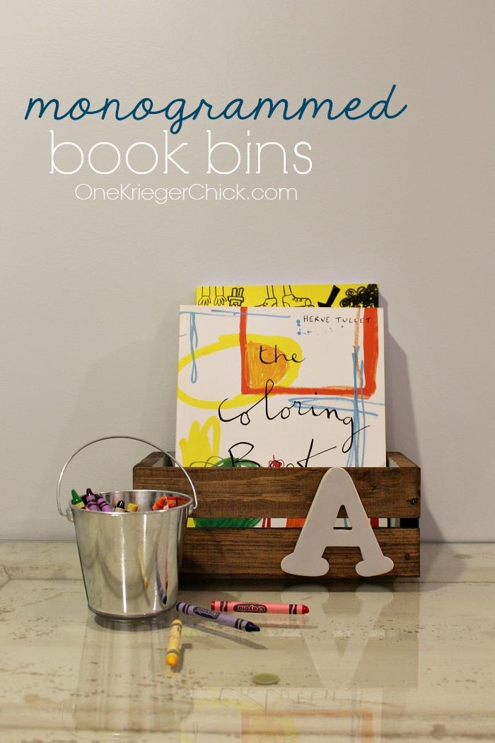 how-to-make-monogrammed-book-bins-OneKriegerChick.com